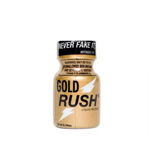 Gold Rush Poppers 10ml small